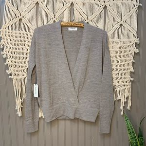 NWT • Aritzia Babaton • 100% Merino Jotham Sweater